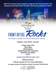 Patterson Front Office Rocks Invite Image