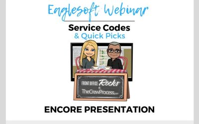 Webinar Replay: Eaglesoft Service Codes Webinar with Laura Hatch and Andre Shirdan