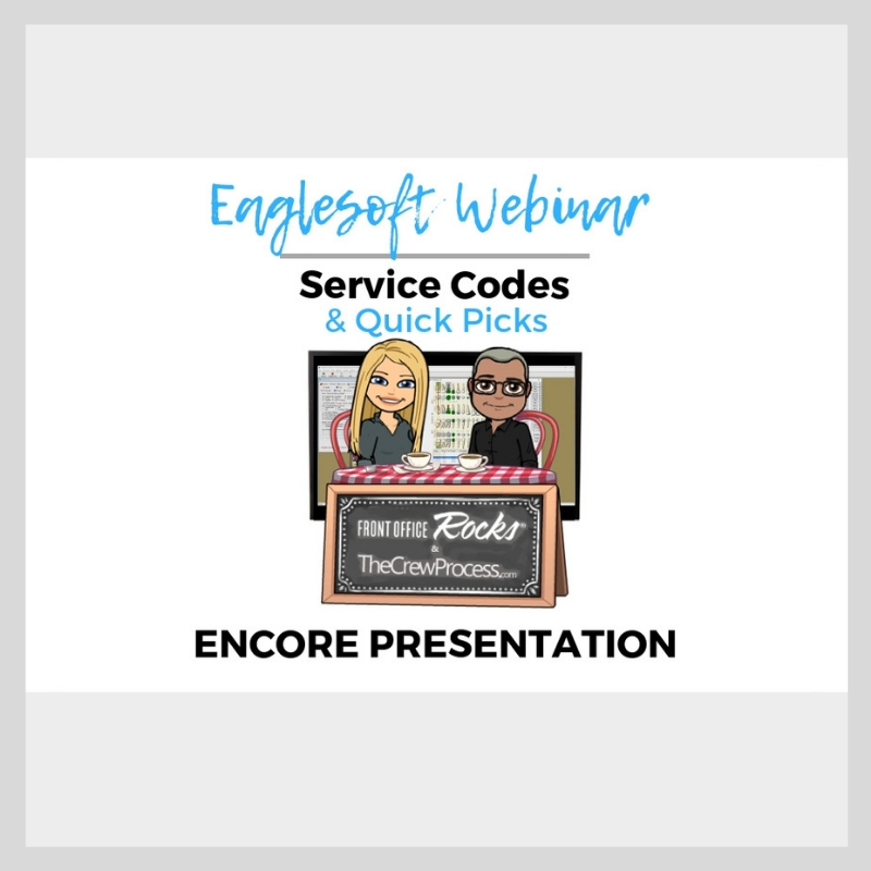 Eaglesoft Service Codes Webinar Video Encore Cover