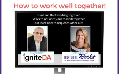 [Video] Dental Assistants and Front Office Staff: How to Work Well Together