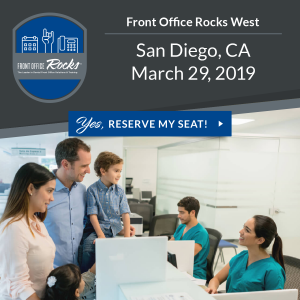 Front Office Rocks West San Diego Live Dental Training