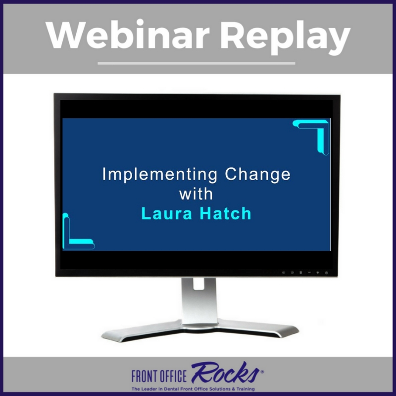 Implementing Change into your Dental Practice Image