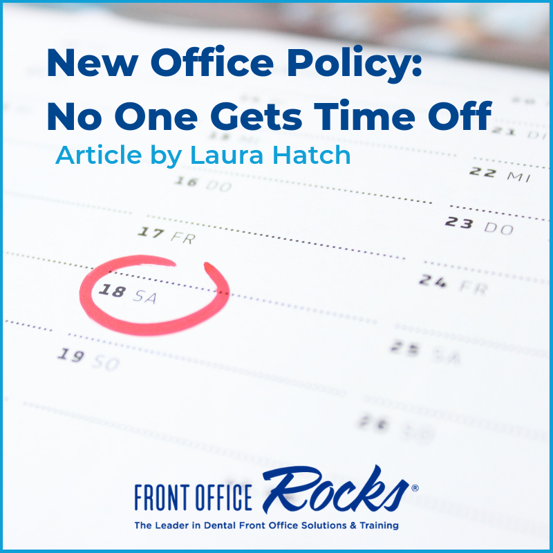 New Office Policy No One Gets Time Off Article by Laura Hatch Cover Image