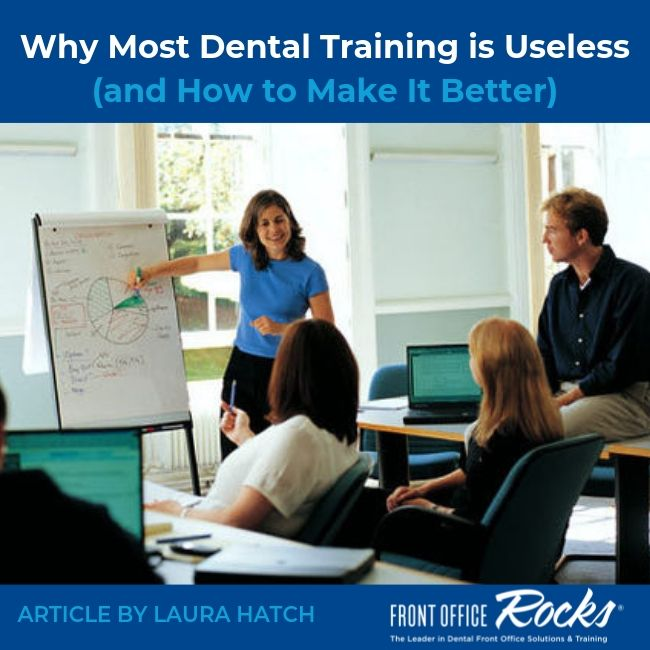 Why Most Dental Training is Useless (and How to Make It Better)